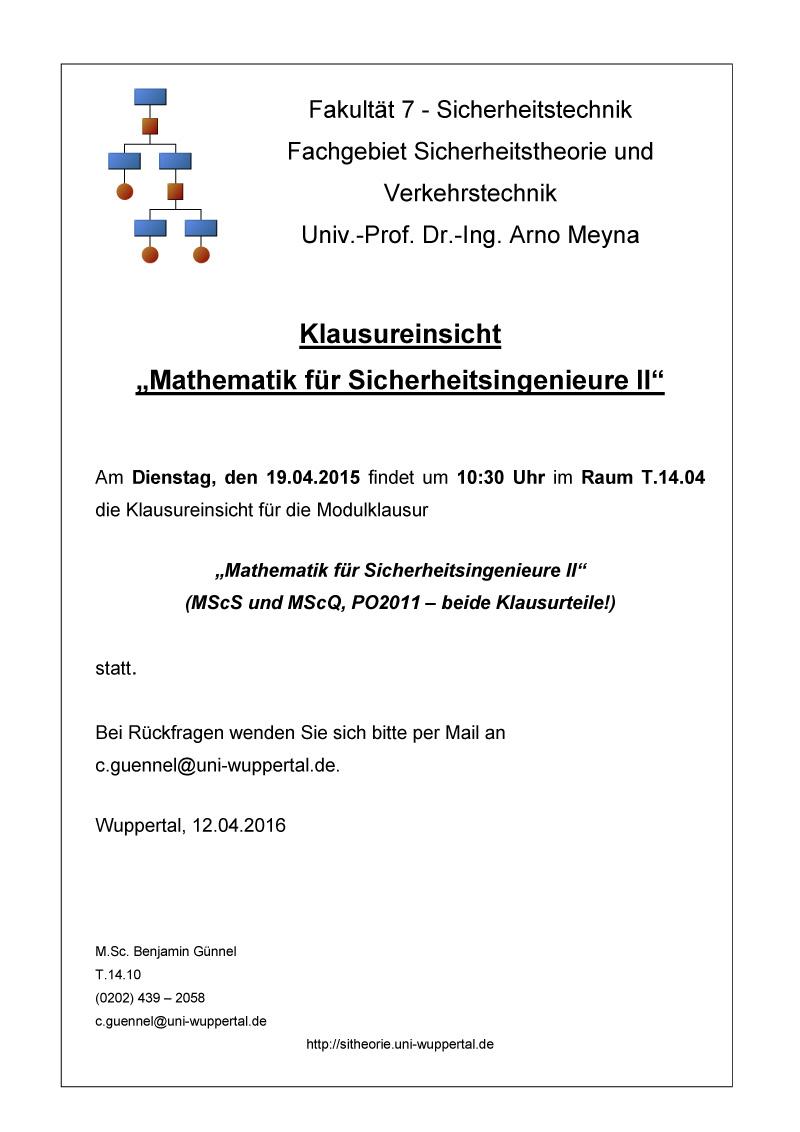 2016-04-12_Aushang_Klausureinsicht_Mathe_II